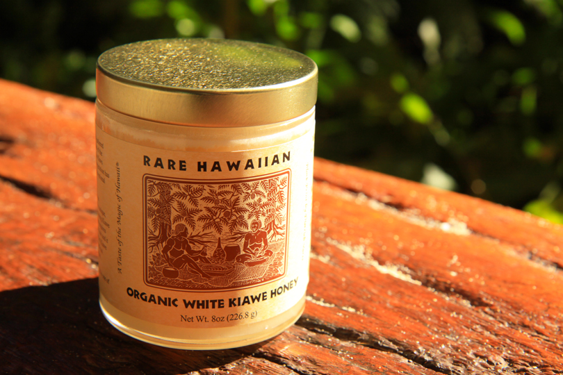 Rare Hawaiian Organic White Honey