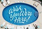 「ここに一緒にいて欲しかったな!(Wish you were here!)」