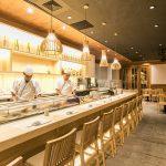 『桜テラス』に新しく寿司カウンター完成 2017年4月改装オープン