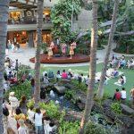 ロイヤルハワイアンセンターでナホク・ハノハノ・アワード受賞ミュージシャンのコンサート