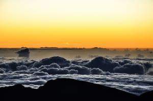 Sunrise at Haleakala Crater - Maui, Hawaii