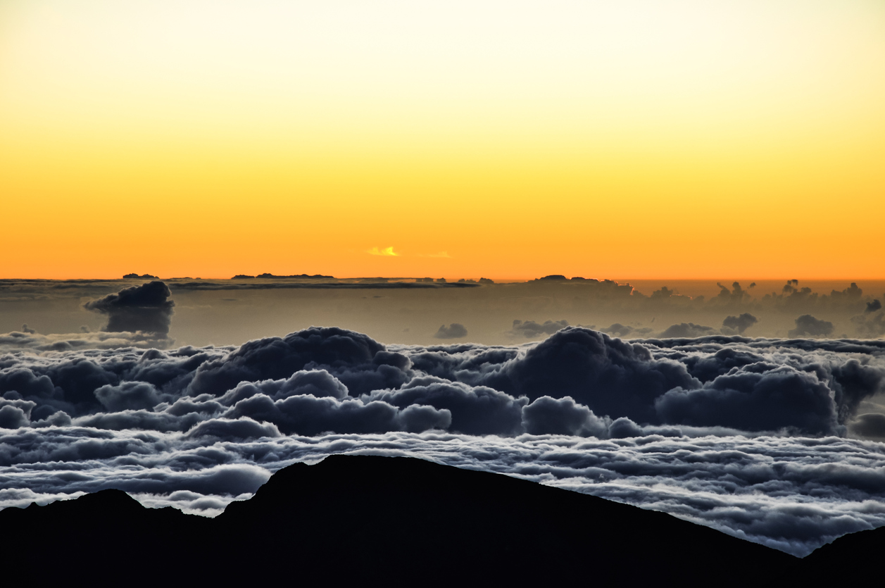 Sunrise at Haleakala Crater - Maui, Hawaii
