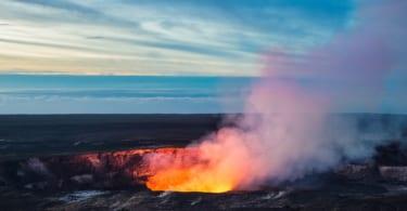 Kilauea Crater, Hawaii Volcanoes National Park, Big Island