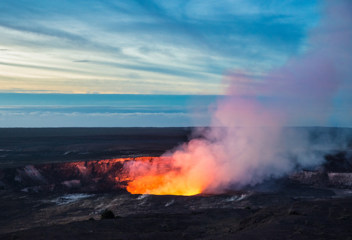 Kilauea Crater, Hawaii Volcanoes National Park, Big Island