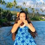 「ハンドモーション:オナオナ」今日のハワイ フラ