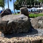 「ワイキキの魔法石」今日のハワイ パワースポット