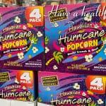 「ハリケーンポップコーン」今日のハワイのお土産