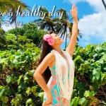 「ハンドモーション:ナニ 」今日のハワイ フラ